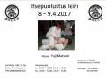 Itsepuolustus Leiri 8 -9.4.2017