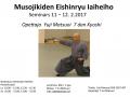 Musojikiden Eishinryu Iaiheiho 11 -12.2.2017
