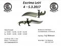 Escrima Leiri 4 – 5.3.2017